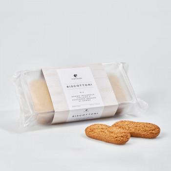 Biscottoni n. 3 - Grano integrale italiano e zucchero grezzo di canna