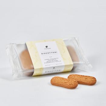 Biscottoni n. 4 - Farro biologico italiano e miele di fiori d'arancio di Sicilia