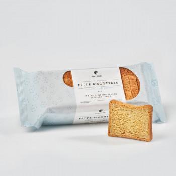 Fette Biscottate n. 3 - Senza zuccheri aggiunti con farina di grano tipo 1